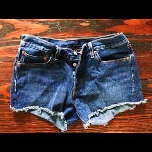 Levi's 501 Button Fly Cutoff Shorts